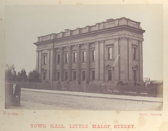 South Wing, Geelong Town Hall,
