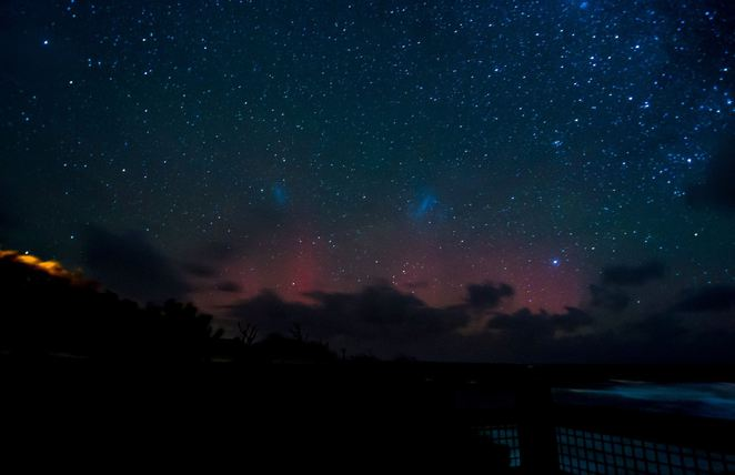 southern lights port campbell, aurora australia, aurora australis tasmania, southern lights tasmania, southern lights,