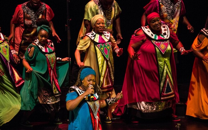 Soweto Gospel Choir Touring Music Live Evening Night Dancing Sing