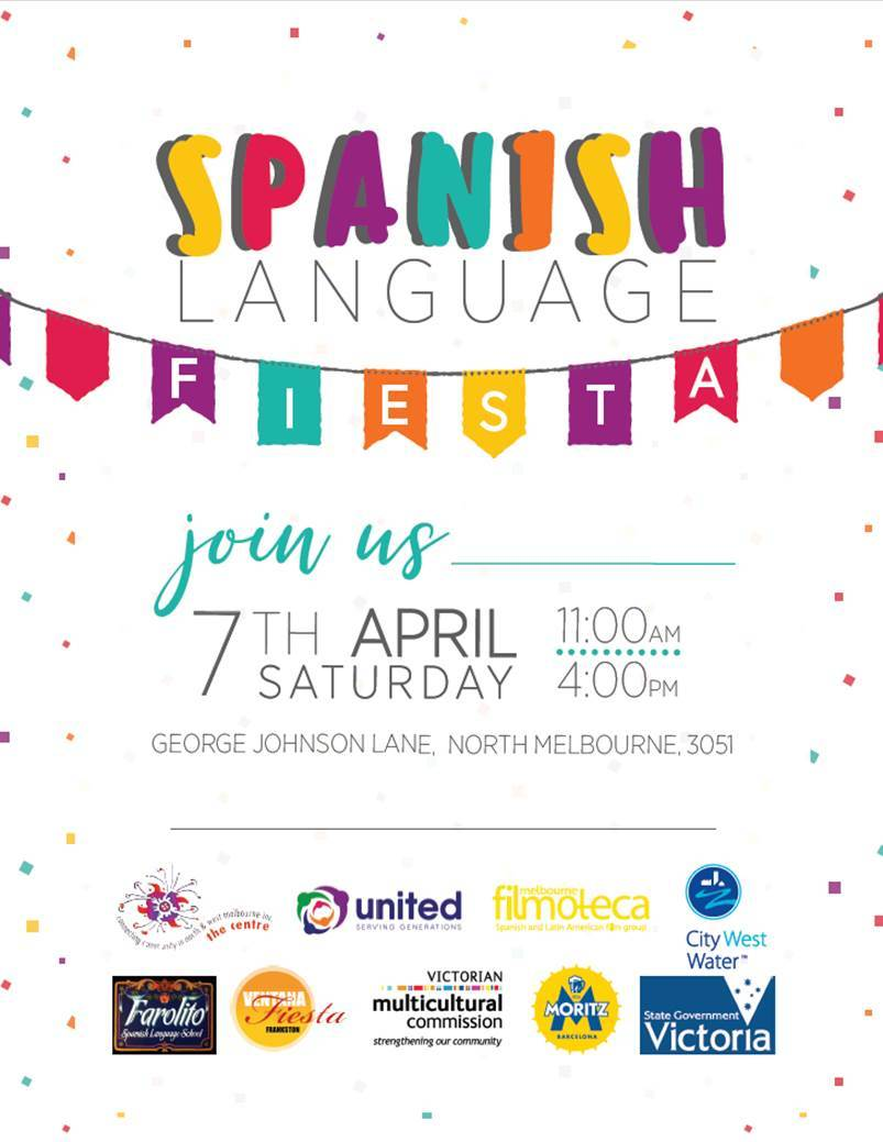 Spanish date format in Melbourne