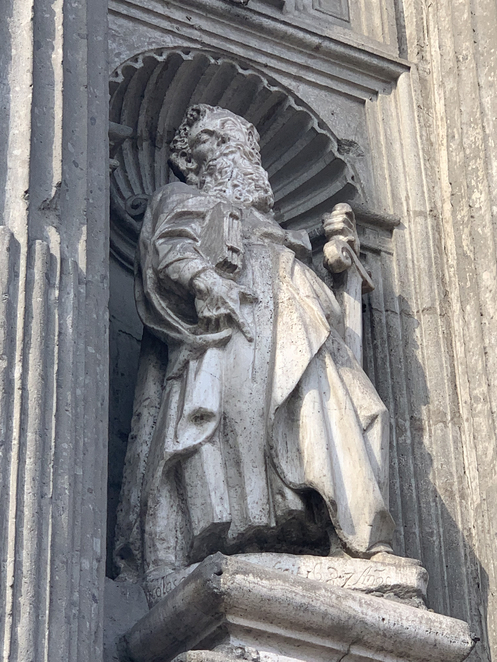 statue, catedral metropolitana, catacombs, Mexico City, Mexico, Church, metropolitan cathedral, Catholic, History, Culture, Templo Mayor, Pope, Tourism, Tour, Catacumbas