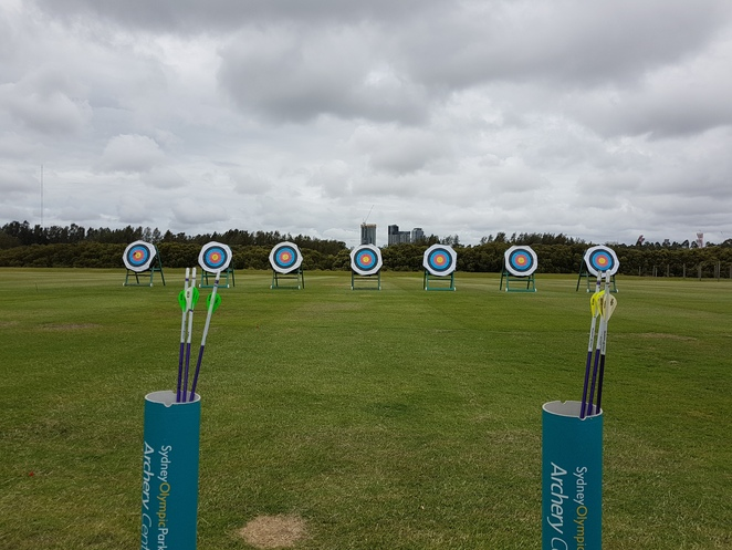 Sydney Olympic Park, archery at Sydney Olympic Park, archery program in Sydney, Merida, Brave movie, archery for family, archery for children, archery for adults