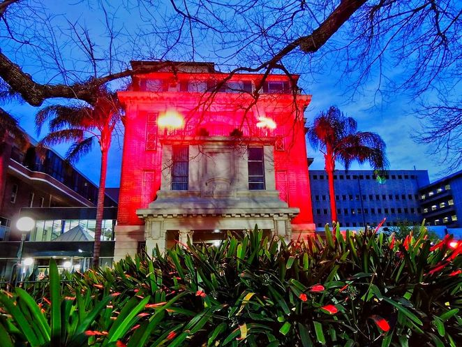the hive, renewal sa, royal adelaide hospital, Adelaide , east end, light show, Allied Health Building, bice building, heritage listed