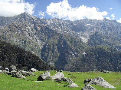 The mountain, Triund, dharamsala, mcleod ganj, trek
