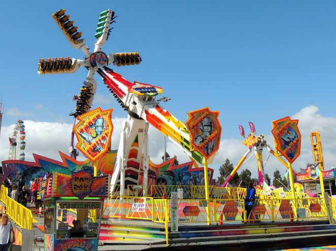 the show, royal adelaide show, royal show, fun things to do, free things to do, amusement park rides, showbags, fun for kids, food and wine, space roller