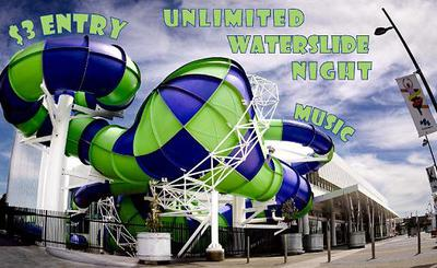 WaterMarc, Slide Night,