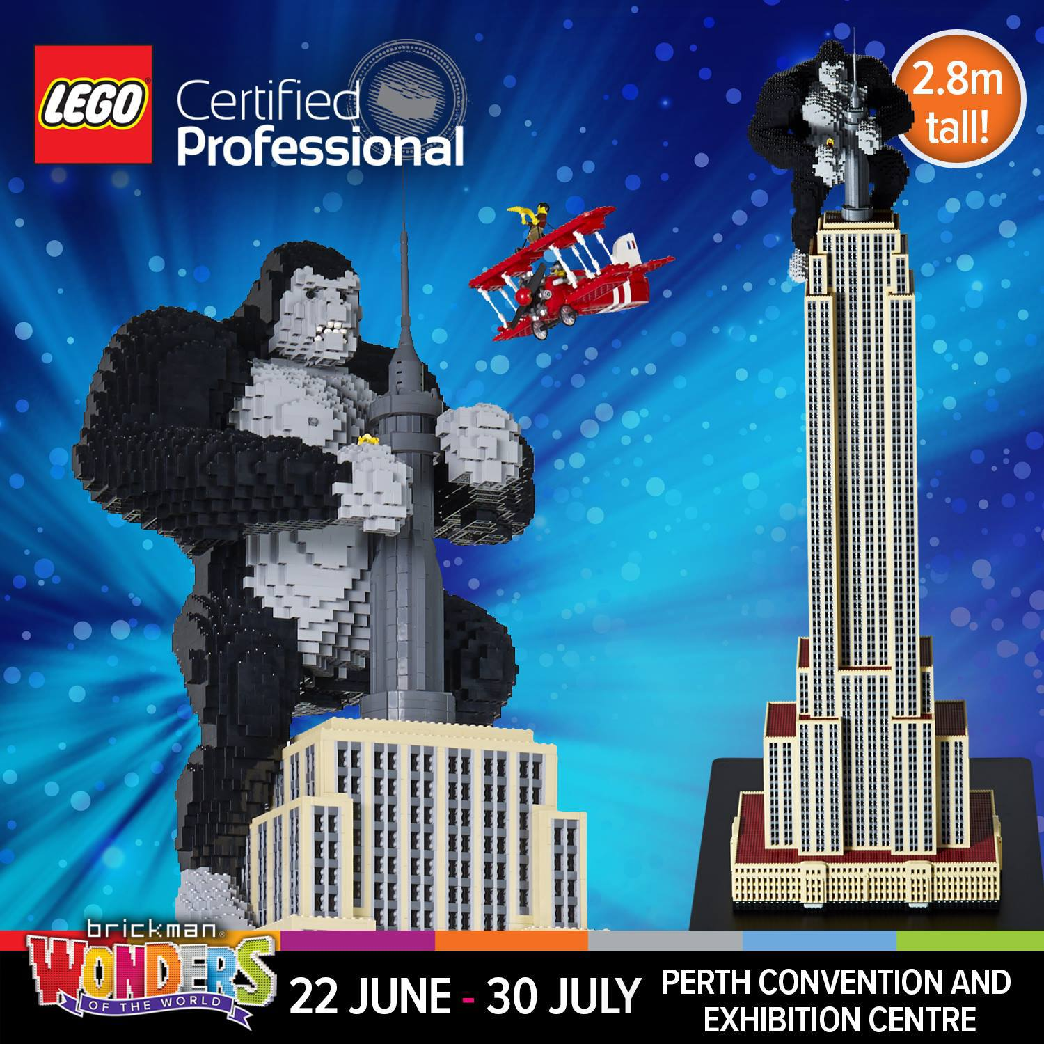 wonders of the world lego exhibition perth by becsorby. Black Bedroom Furniture Sets. Home Design Ideas