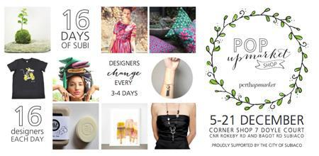 16 days of subi, subiaco events, christmas pop up store subi, pop up store subiaco
