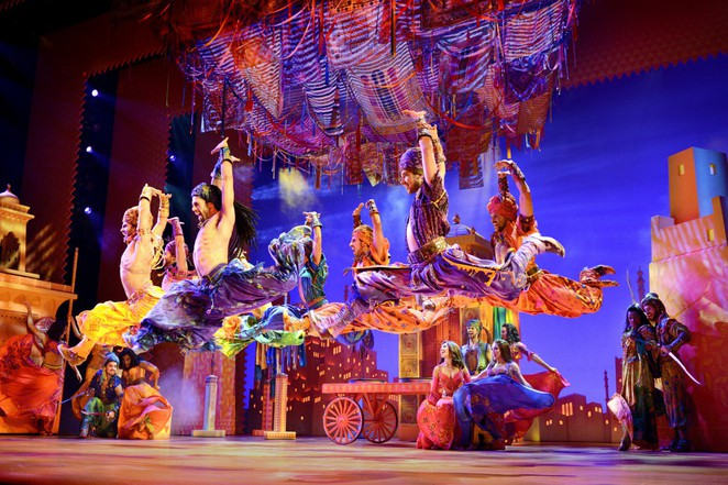 aladdin the musical review melbourne