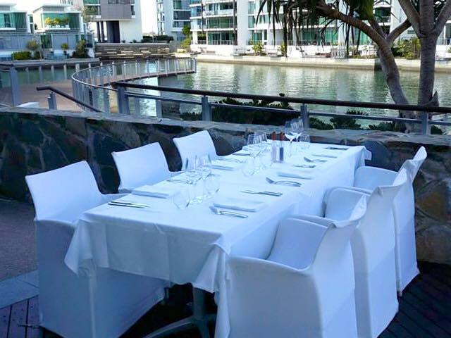 Artichoke Gold coast, ephraim island, artichoke restaurant and bar, queensland waterside dining