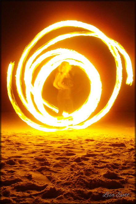 beach, camping, easter, fire dancing, fire twirling