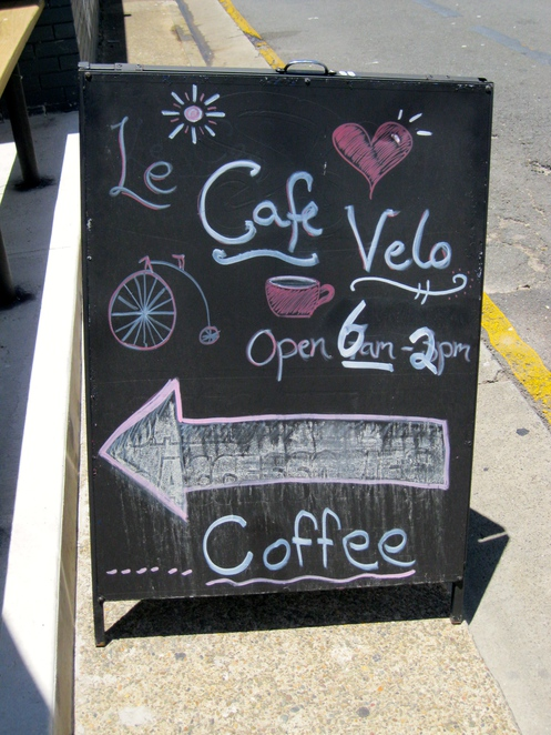 Cafe Velo - the nicest place in broad beach to get a coffee