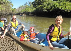 Free Canoeing on the Oxley River