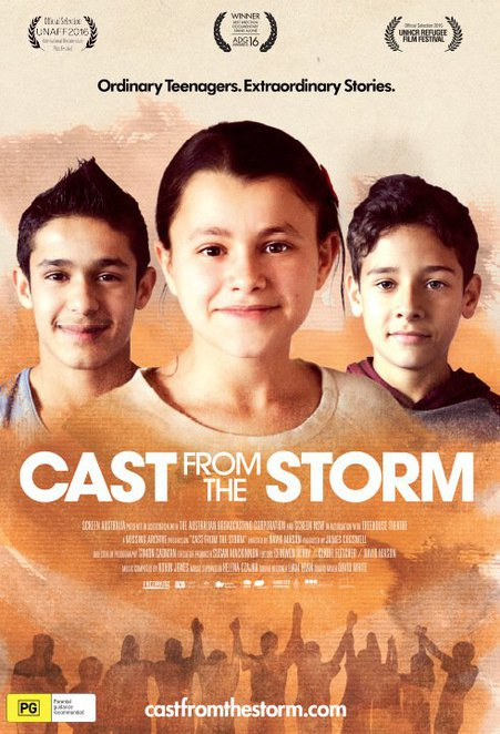 cast from the storm, acmi, refugee week 2017, documentary, film, movie, actors, refugees, q&a, film makers, movie cast, community event, fun things to do, cinema goer, movie buff