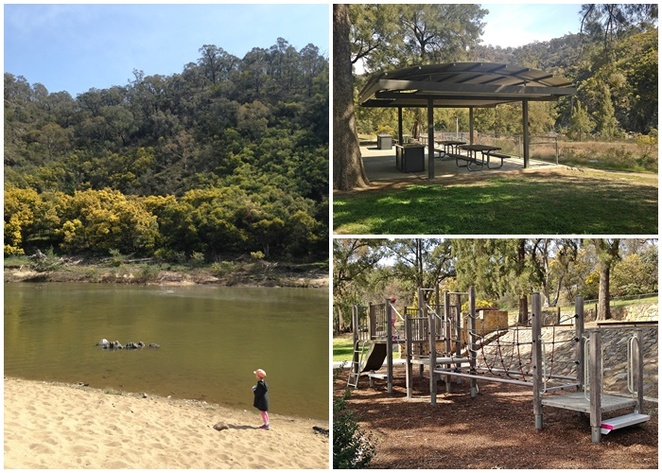 casurina sands, canberra, ACT, river swimming areas, murrumbidgee river, BBQ areas, picnic areas, walks,