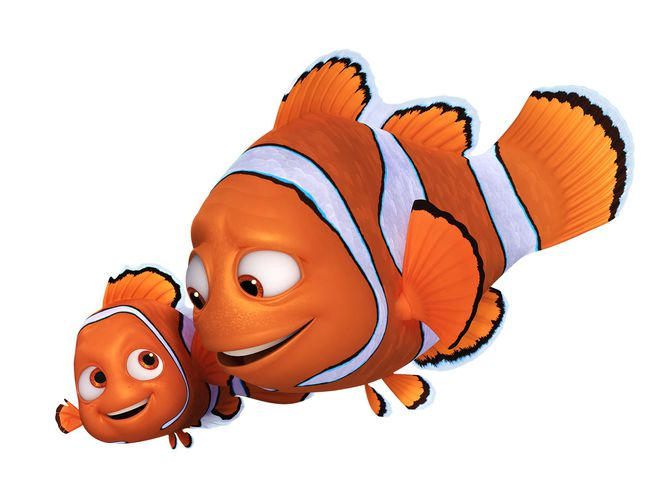 Disney Pixar's Finding Dory - Marlin and Nemo