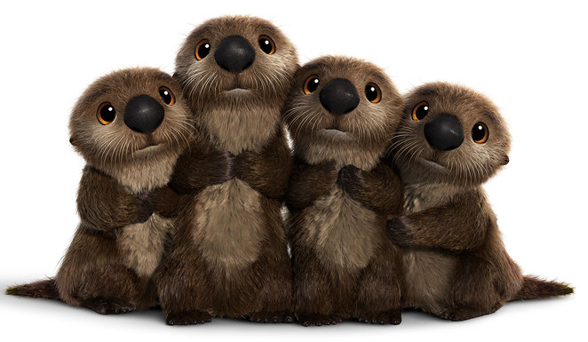 Disney Pixar's Finding Dory - Otters