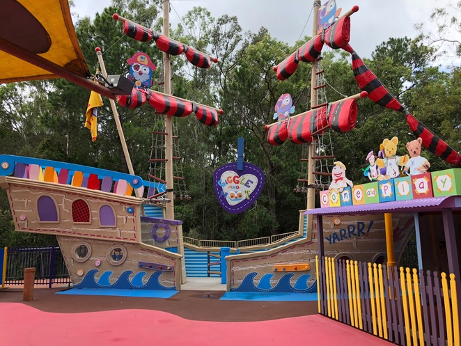 Dreamworld, Gold Coast, things to do Gold Coast, Gold Coast with young children, ABC Kids World Dreamworld, Wiggles World Dreamworld