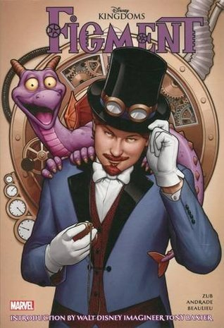 Figment, Figment comic, the Dreamfinder comic, comics about dragons, Disney, Marvel comic