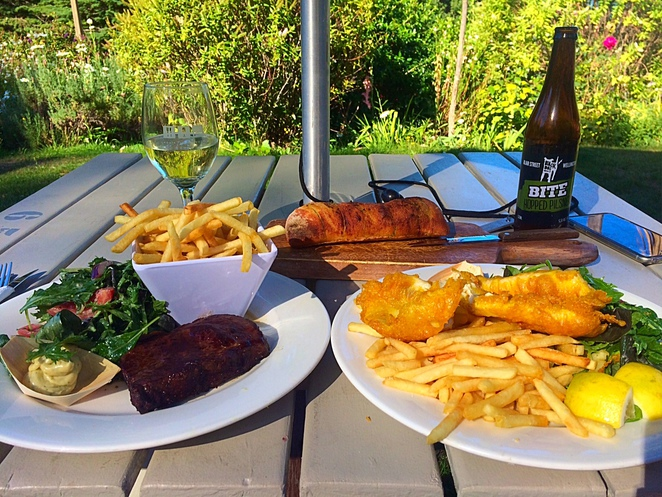 fish and chips in Lyttelton, steak in Christchurch, dinner in Lyttelton, Governors bay hotel, governors bay, lyttelton harbour, things to do in Christchurch, places to visit, weekend escapes new zealand, places to eat in Lyttelton