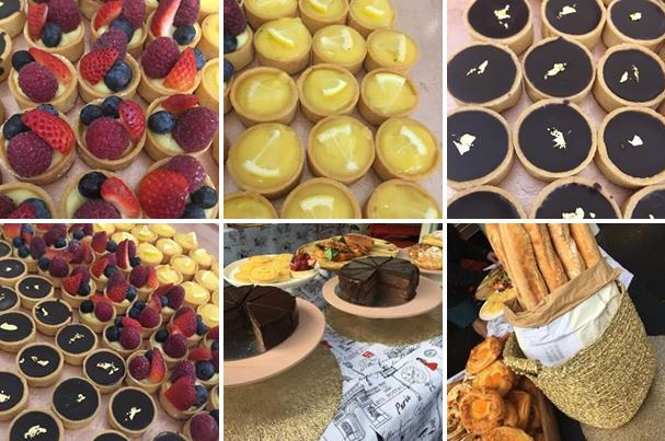 french pastries, kings cross markets, flexitarian markets