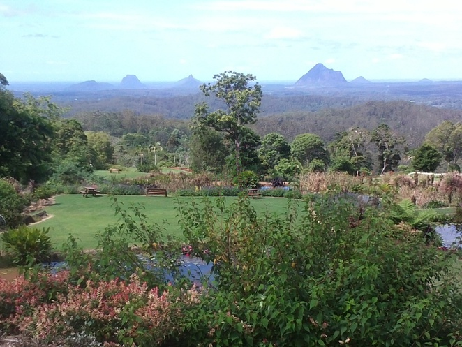glass house mountains, stunning views
