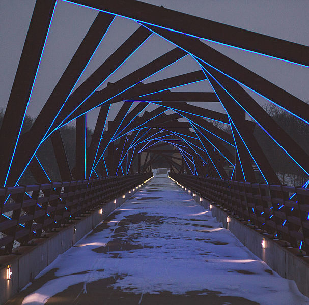 High Trestle Bridge, Madrid, Iowa, USA