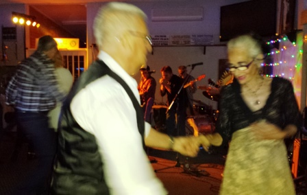 Hilton Park Bowling Club, Friday night live music, rock and roll dancing