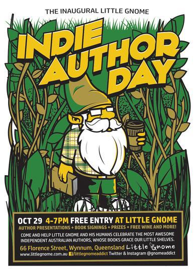 Little Gnome, books, authors, Wynnum, writers, cafe
