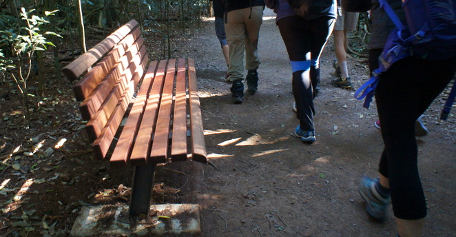 Enjoy a walk through the forest or sit on one of the many benches