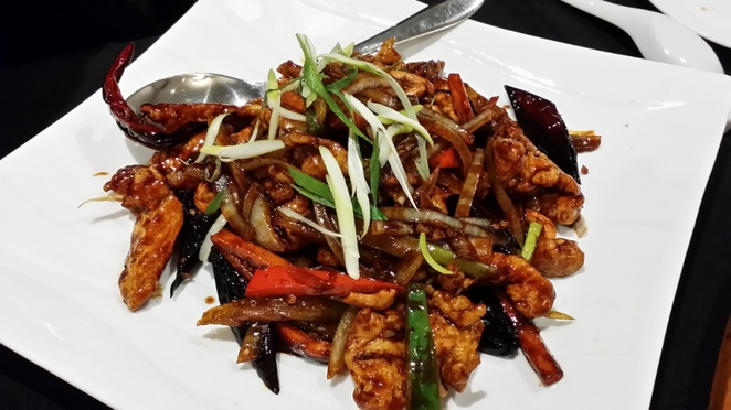Ming Room, Kung Po Chicken Delight, Adelaide