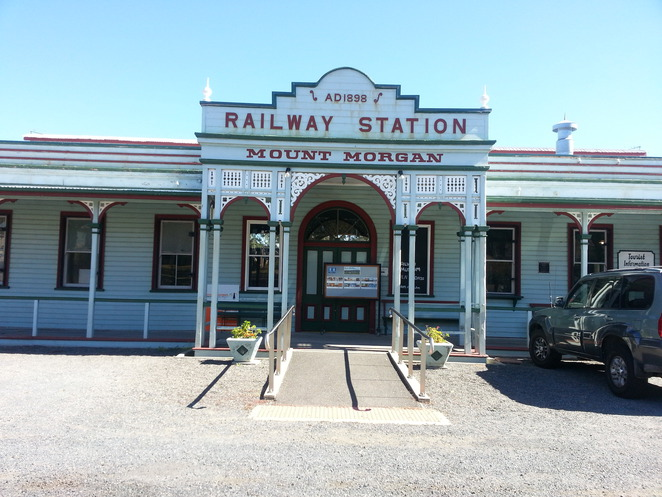 Mt Morgan, Railways, History, Queensland
