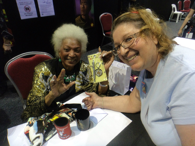 Nichelle Nicols, Star Trek, Queensland Star Trekkers Fan Club, Mary Kempe