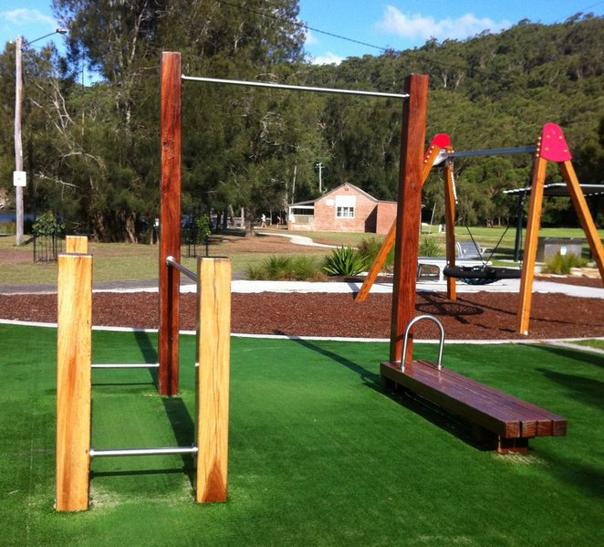 outdoor exercise adult gym sydney woronora fitness