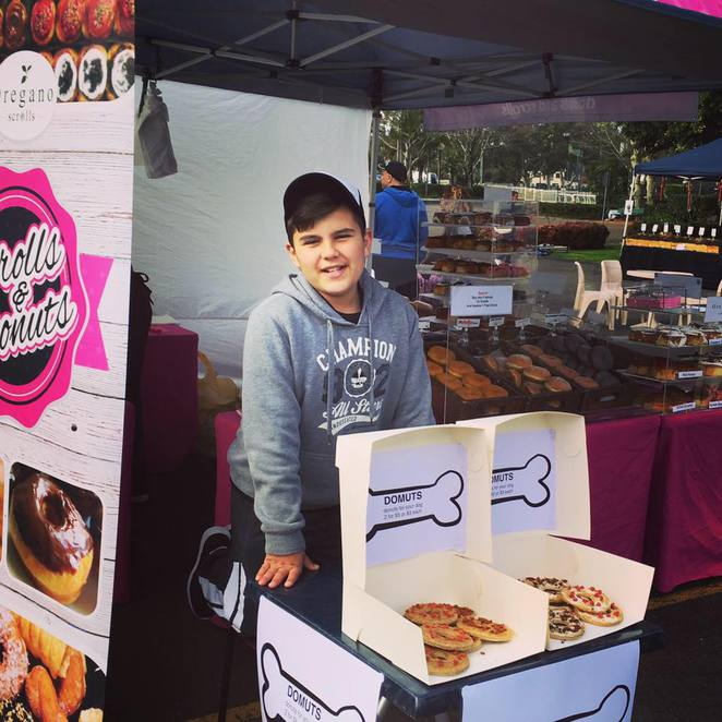 Pawfect Day Out, Dogs, Pets, Doggie Treats, Domuts