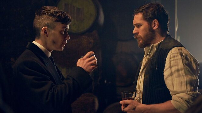 Peaky Blinders, Birmingham based, UK TV dramas