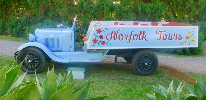 Ford Truck Pitcairn Village Norfolk Island