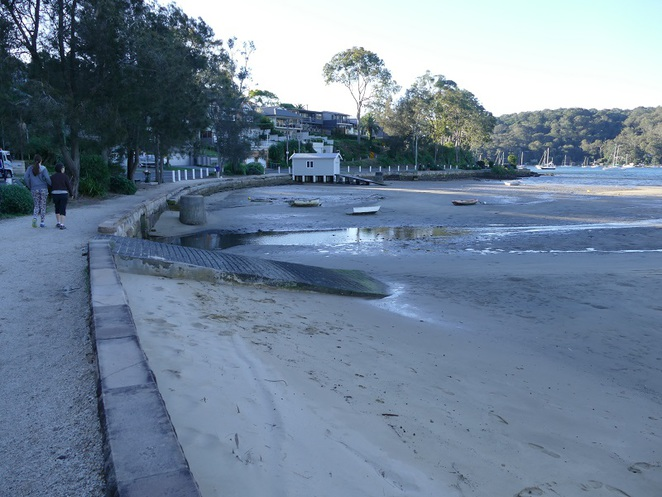 Pittwater footpath