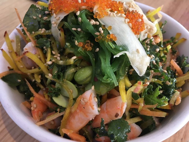 Prawn Fish Bowl Salad