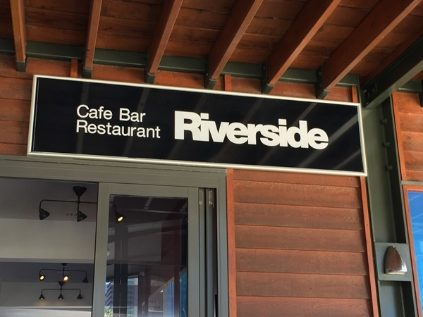 Riverside,cafe