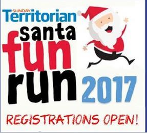 Santa Fun Run 2017, Darwin Waterfront Precinct, Darwin, Christmas, NT Darwin Variety