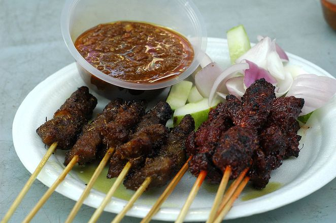 Satay night live, rockestra, empress place, live music, Satay, Food bazaar, Raffles Place