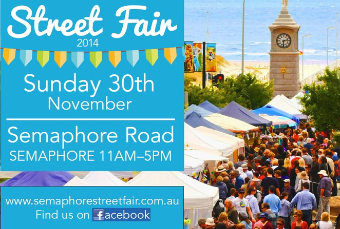 semaphore, semaphore street fair, fun things to do, in adelaide, family events adelaide, activities for kids, free things to do, semaphore road, family events adelaide