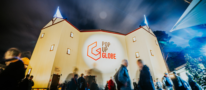 Shakespeare, pop up globe, theatre, plays