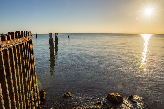 Shorncliffe, pier, jetty sunrise
