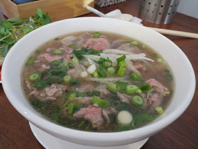 Thanh Viet Restaurant, Rare Beef Pho, Adelaide