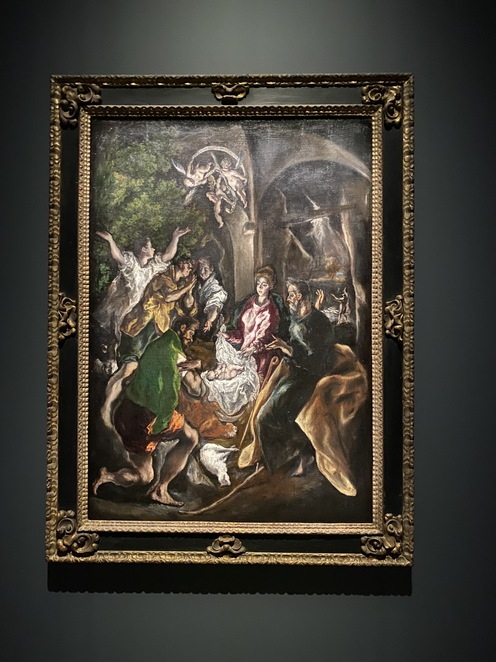 The Adoration of the Shepherds from 1605
