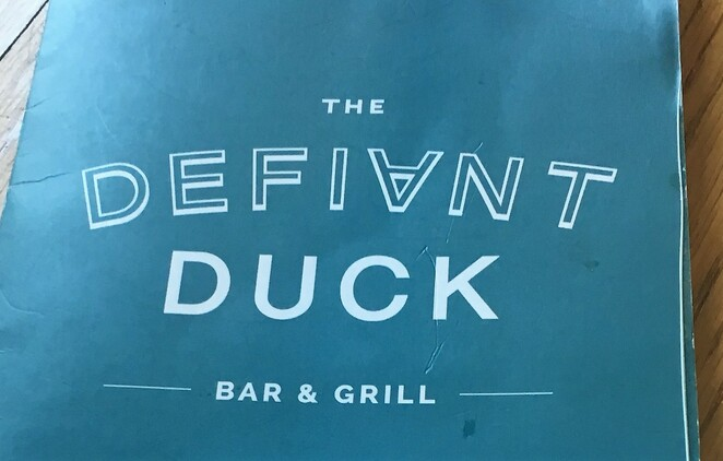 the defiant duck