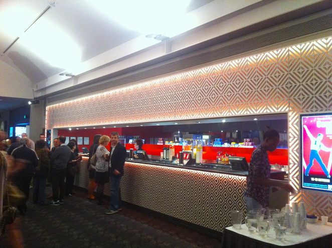 The Grief Parlour, Riverside Theatres, theatre, foyer, bar