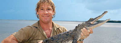 The late and great Steve Irwin/image from australiazoo.com.au